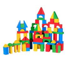 Építőkocka (100 db-os, színes)