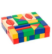 Építőkocka (3 cm-es, színes)