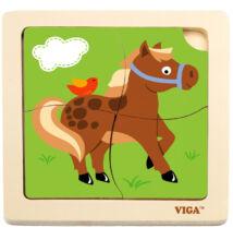 Puzzle 4 db-os (lovacskás)