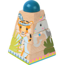 Puzzle torony - dzsungeles
