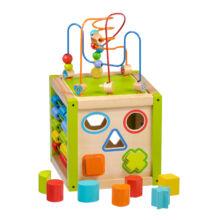 Készségfejlesztő kocka (zöld)