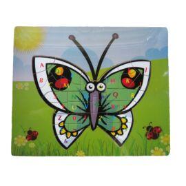 Puzzle betűkkel (pillangó)