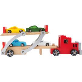 autó szállító kamion