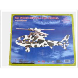 3D puzzle (katonai helikopter)