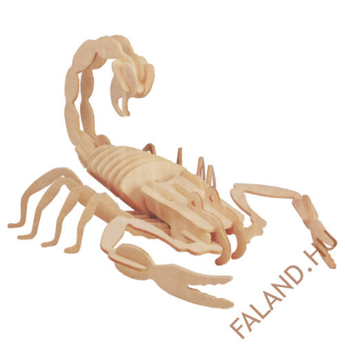 3D puzzle skorpió (natúr)