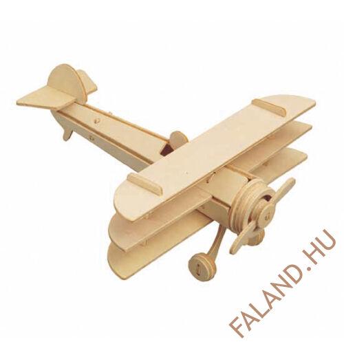 3D puzzle tri-plane (natúr)