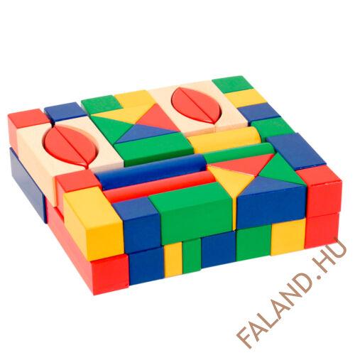 Építőkocks (3 cm-es, színes)