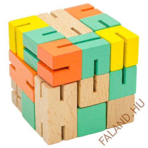Logikai flexibilis kocka (zöld)