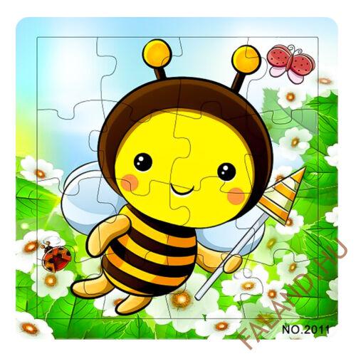 Puzzle 16 db-os (méhecske)