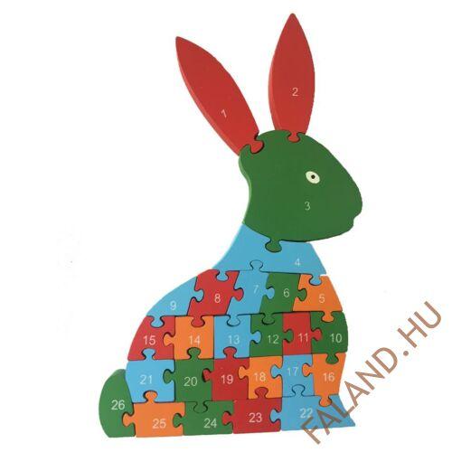 Magasított puzzle (nyuszi)