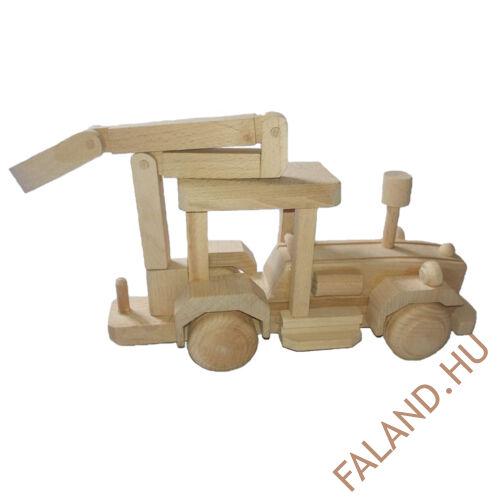 Traktor farakodóval (natúr)