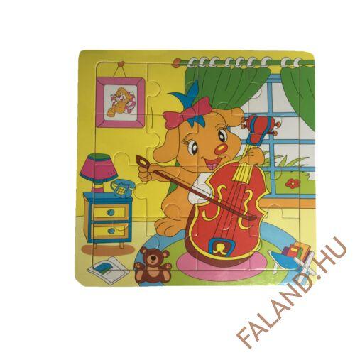 Puzzle 16 db-os (kutya)