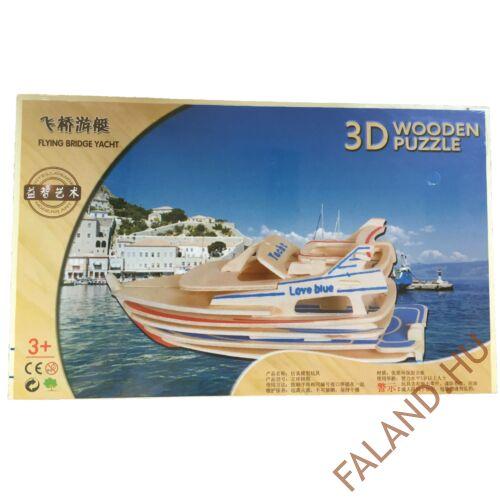 3D puzzle (Yacht)